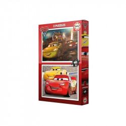 EDUCA PUZZLES 2X48 CARS 3...