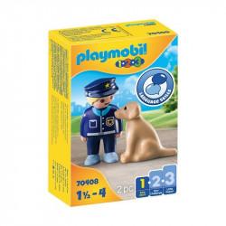 PLAYMOBIL 1.2.3 Policía con...