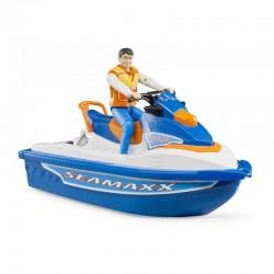 BRUDER Moto acuática con...