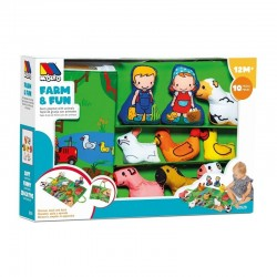 CN20 MOLTO PLAYSET FARM AND...