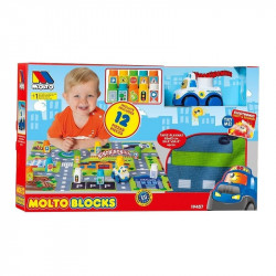 MOLTO SET BLOCKS CAR +...
