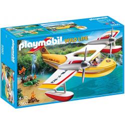 PLAYMOBIL Hidroavión de...
