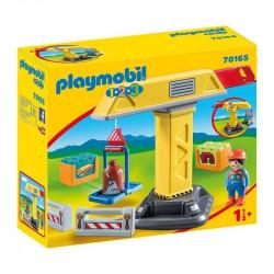PLAYMOBIL 1.2.3 Grúa 70165
