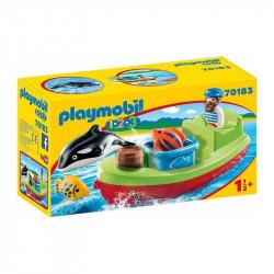 PLAYMOBIL 1.2.3 Pescador...