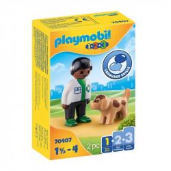 PLAYMOBIL 1.2.3 Veterinario...